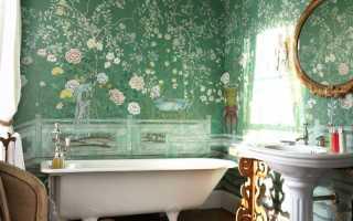 50 идей покраски стен в ванной комнате