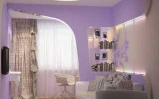 Интерьер спальни с диваном вместо кровати