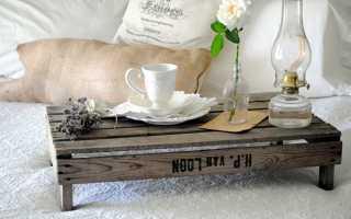 Мебель из поддонов в интерьере