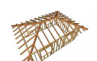 Крыша для квадратного дома