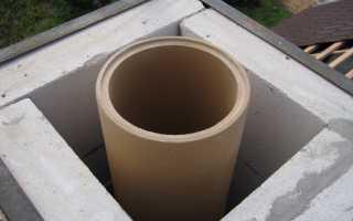 Как загильзовать кирпичный дымоход?