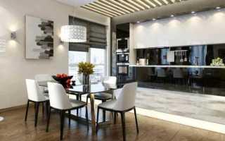 100 примеров освещения на кухне