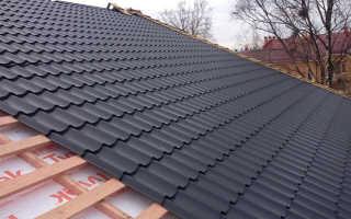 Металлочерепица как правильно покрыть крышу