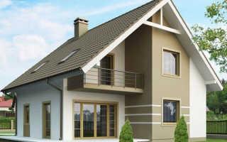 Как сделать мансарду с двухскатной крышей?