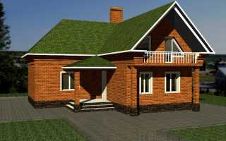Г образная крыша с разными фронтонами
