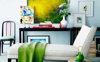 Элементы и предметы декора интерьера