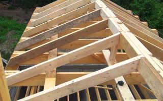 Как правильно сделать крышу дома двухскатную?