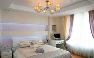 Дизайн спальни 4 на 41