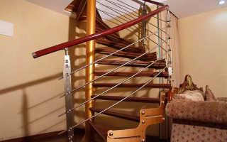 Лестница на мансарду в небольшом доме фото