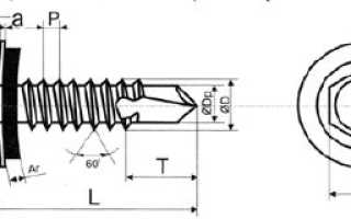 Саморезы для поликарбоната по металлу