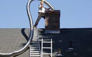 Гофрированный дымоход из нержавеющей стали