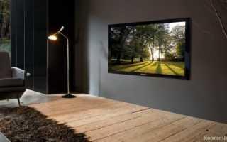 Телевизор в интерьере, способы размещения