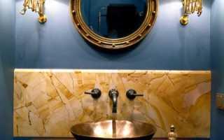 Ванная комната без плитки
