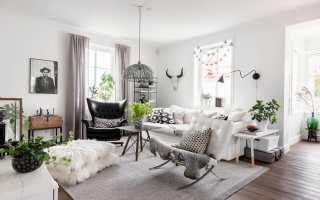 Шведский стиль в интерьере1