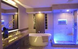 Ванная в стиле хай1