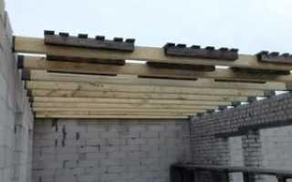 Устройство межэтажного перекрытия по деревянным балкам