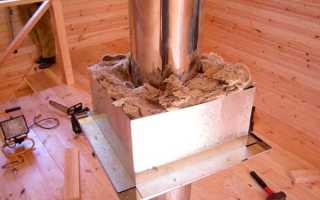 Базальтовая теплоизоляционная скорлупа для дымоходов
