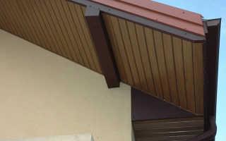 Как подшить крышу софитом?1