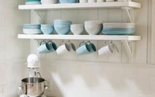 Декоративные полки на кухню