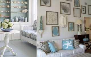 10 идей декора из ракушек в интерьере