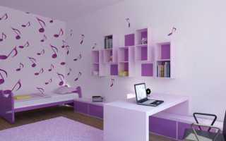 Дизайн комнаты для девочки 10