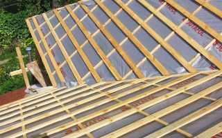 Обрешетка и контробрешетка крыши