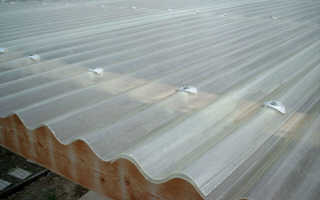 Пластик для крыши