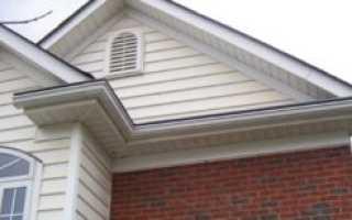 Чем подшить карниз крыши софитом или профнастилом