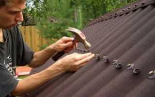 Как крепить ондулин на крышу?