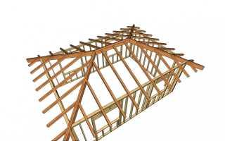 Как сделать 4 скатную крышу