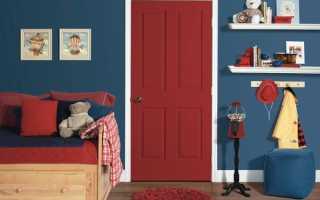 Как выбрать цвет пола и дверей в интерьере