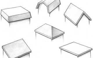 Разновидности крыш частных домов