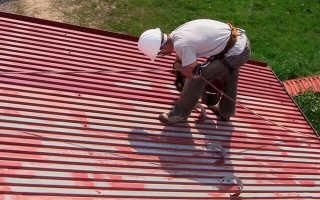 Краска для крыши из металла