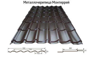 Металлочерепица под натуральную черепицу