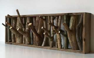 Декор из веток дерева для дома своими руками