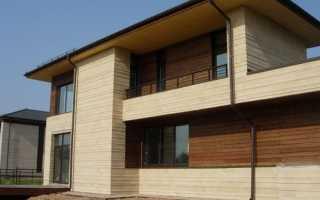 Цементный сайдинг для обшивки дома