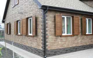 Декоративные панели для наружной отделки стен дома1