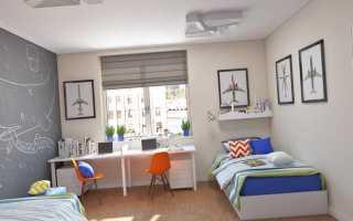 Дизайн детской комнаты для двоих девочек