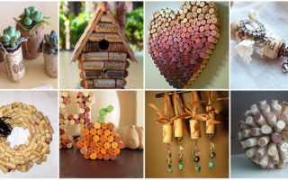 Поделки и декор из пробок от вина
