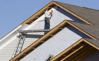 Как рассчитать площадь фронтона двухскатной крыши?