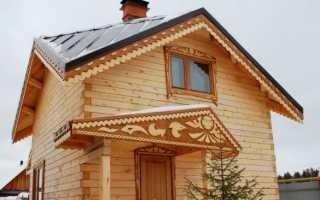 Крыша судейкина для прямоугольного дома