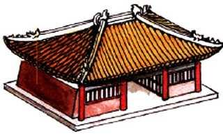 Крыша в китайском стиле