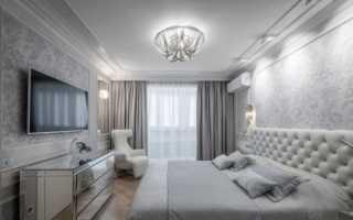 Дизайн спальни 17 кв м
