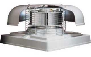 Установка крышного вентилятора на кровле