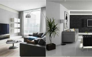 Стиль минимализм в интерьере квартиры и дома (