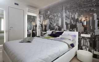 Интерьер небольшой спальни 10 кв м