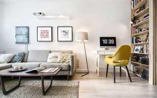 Дизайн гостиной в хрущевке1