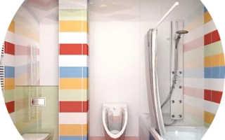 Дизайн санузла совмещенного с ванной