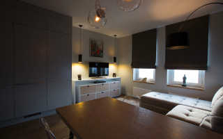 Дизайн однокомнатной квартиры для молодого мужчины
