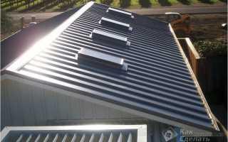 Как правильно класть металлопрофиль на крышу